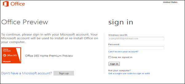 Preview Office 365
