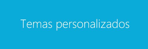 personalização Office 365